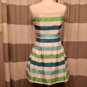 Lilly Pulitzer Size 0 strapless dress